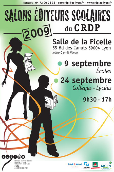 So'Fictif - Sophie Groleau - Salon des éditeurs scolaires 2009