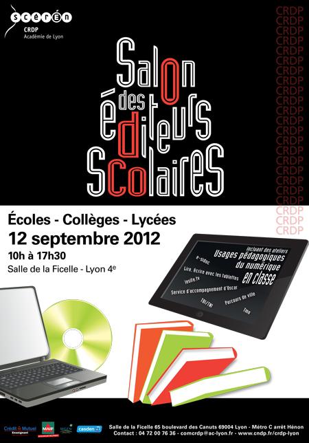 So'Fictif - Sophie Groleau - Salon des éditeurs scolaires 2012