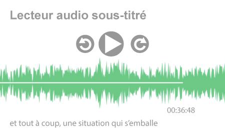 So'Fictif - Sophie Groleau - Lecteur audio sous-titré